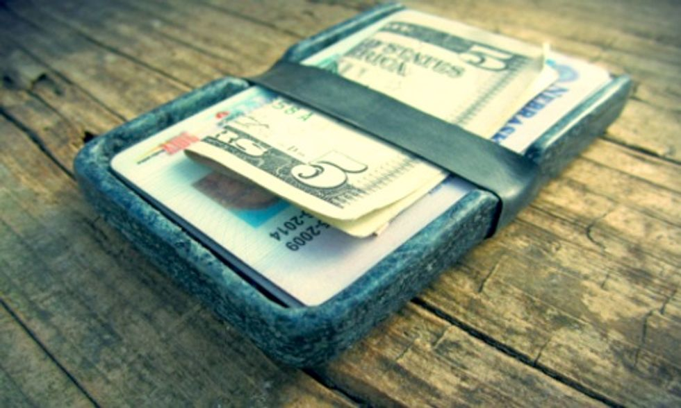 Innovative Company Transforms Recycled Jeans Into Coasters, Wallets and Rings
