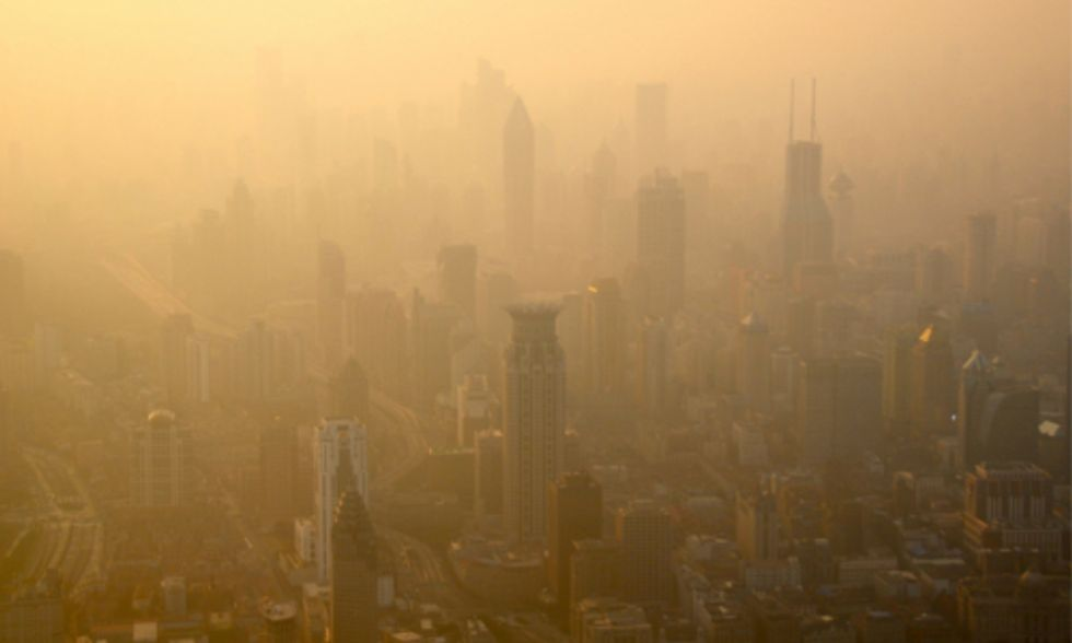 Chinese Media Criticized for Touting 'Benefits' of Shanghai's Air Pollution