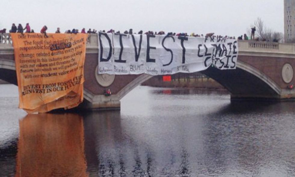 Students Escalate Divestment Campaign After Universities Refuse to Sell Fossil Fuel Stocks
