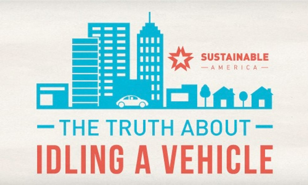 Stop Idling Your Car And Cut Carbon Dioxide Emissions