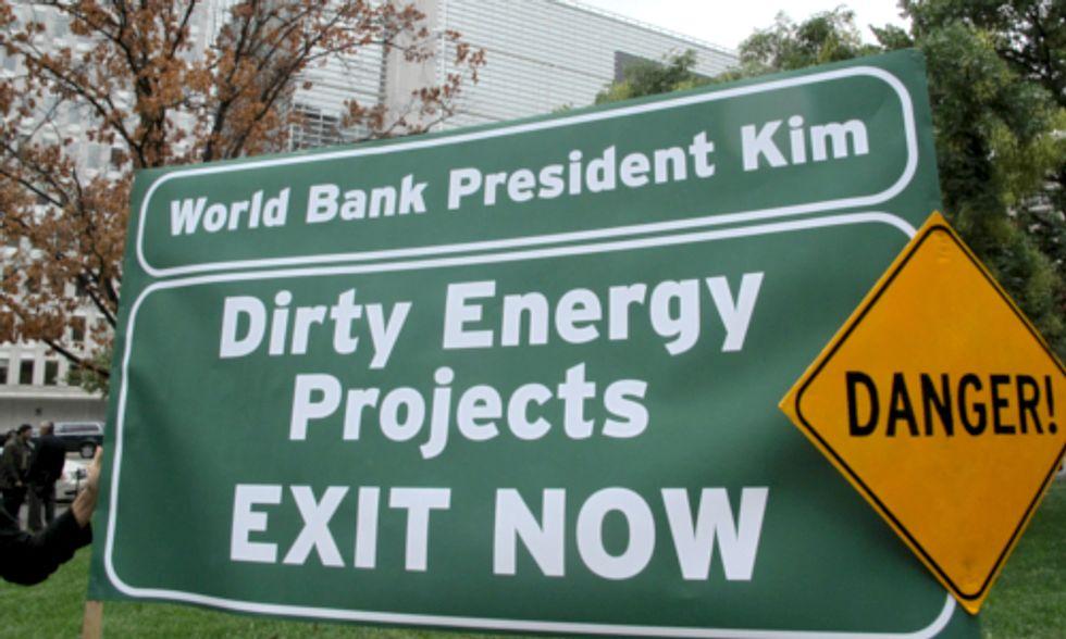 Groups Challenge World Bank Funding of Destructive Mega-Dams
