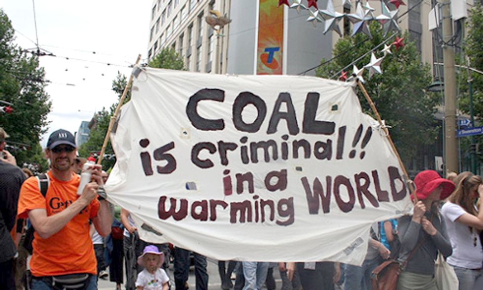 Report Chronicles International Grassroots Fight Against Coal in 2013