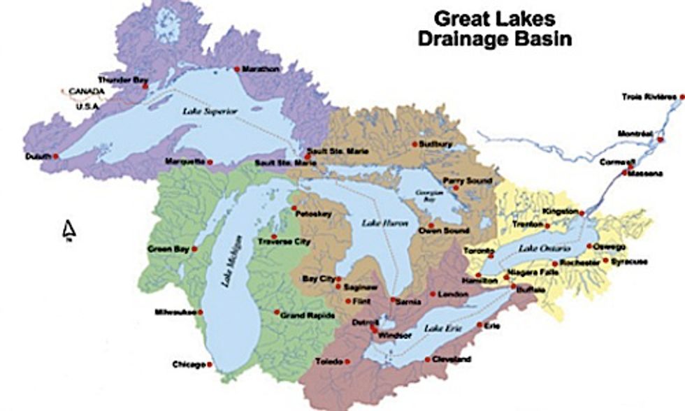 Great Lakes Ecosystems Threatened by Food Scarcity