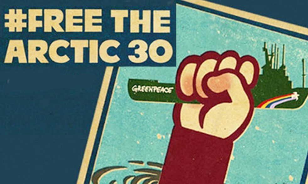Arctic 30 Told They Are Not Free to Leave Russia