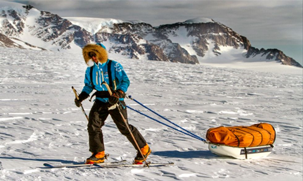 Teen Embarks on South Pole to Bring Awareness to Climate Change