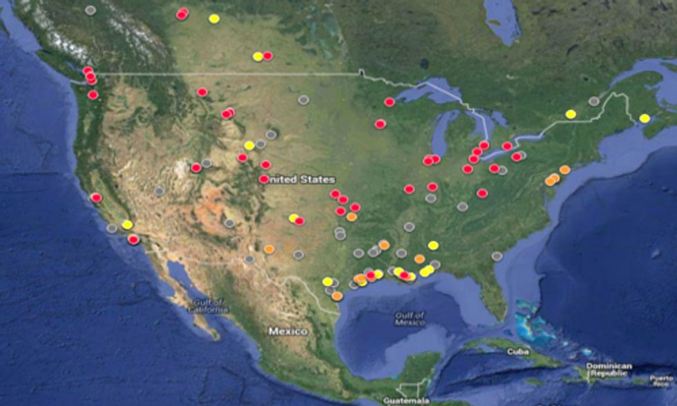 Interactive Tool Tracks Tars Sands Refinery Production in North America