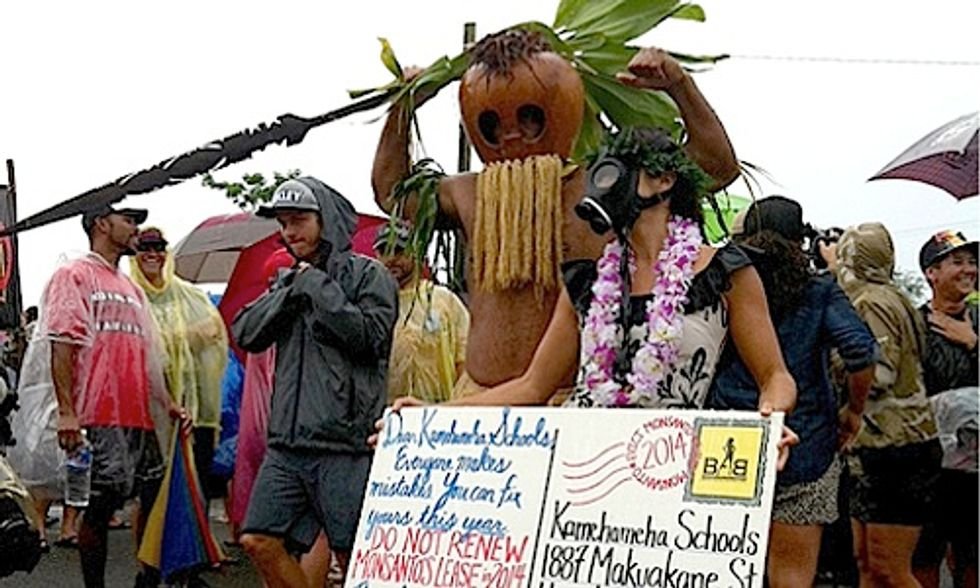 700+ March Against Monsanto and GMOs in Hawaii