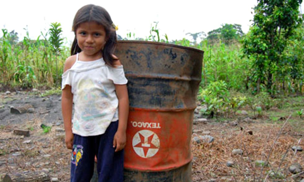 Significant Victory for Ecuadorians in Oil Pollution Case Against Chevron