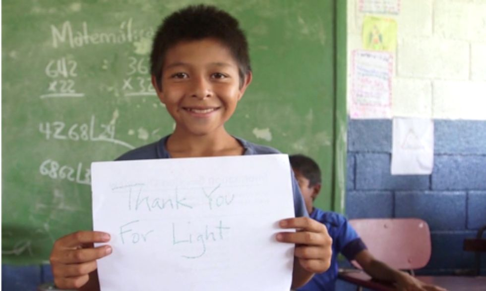 Company Launches Foundation to Bring Solar Energy to Schools Without Electricity
