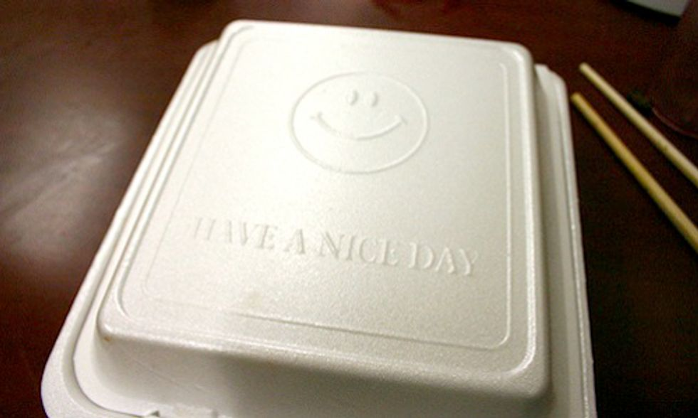 New York City Bans Styrofoam Food Containers