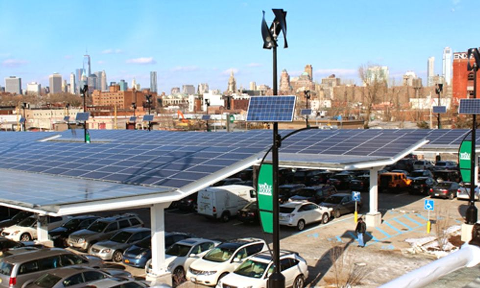 Brooklyn Whole Foods Wows With Solar, Wind, EV Chargers, Greenhouse and More