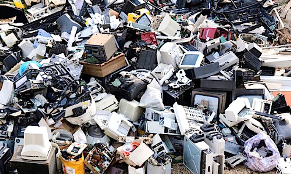 Worldwide Electronic Waste to Reach 65 Million Tons by 2017