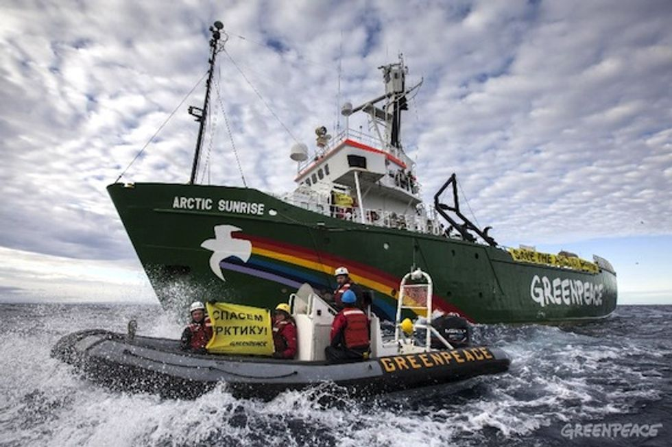 A Year in the Life of Greenpeace