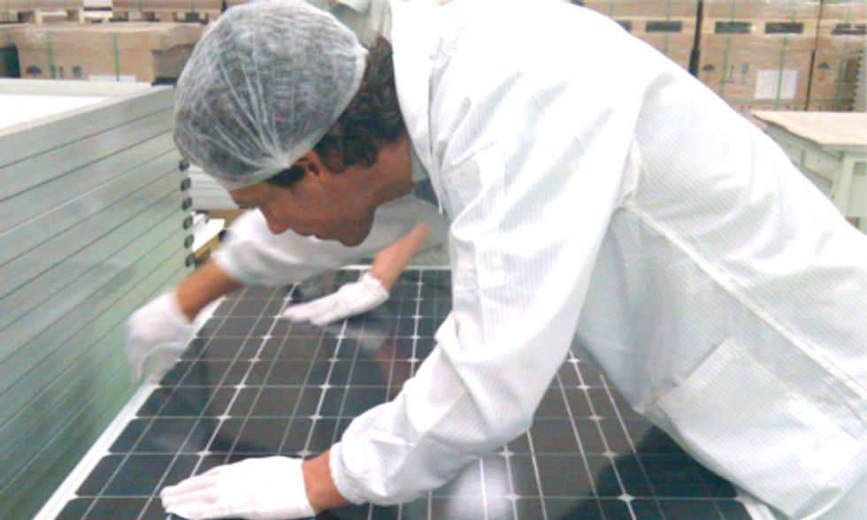 Solar Company's Petition to Close Industry Loophole Continues Debate Between U.S. and China