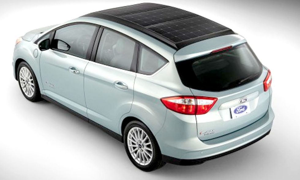 Ford to Introduce First Solar-Powered Car