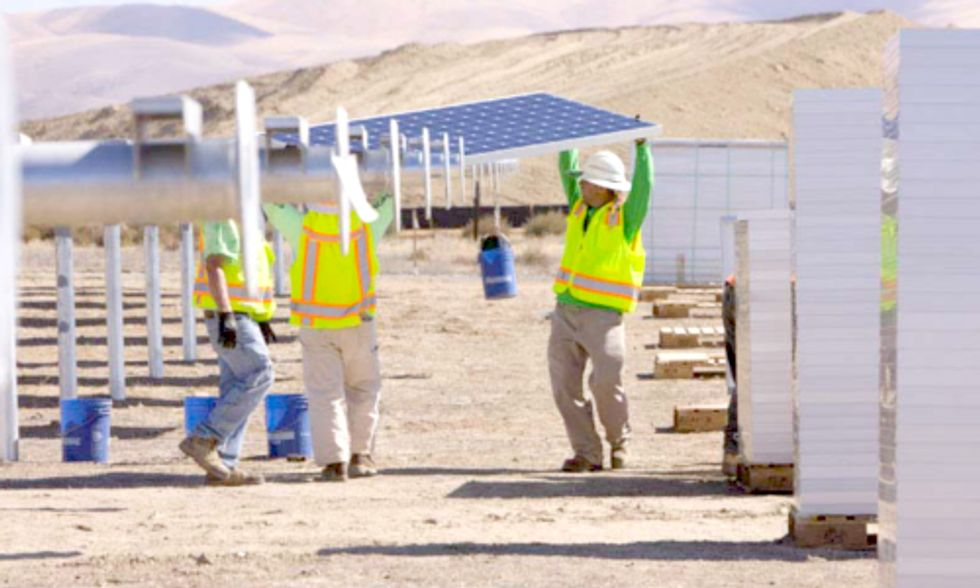 Large-Scale Solar Project Funding Grew by $5 Billion in 2013