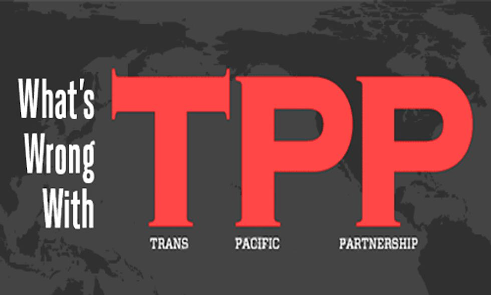 Congress Moves to Fast Track TPP, Threatening Human Health and Environment