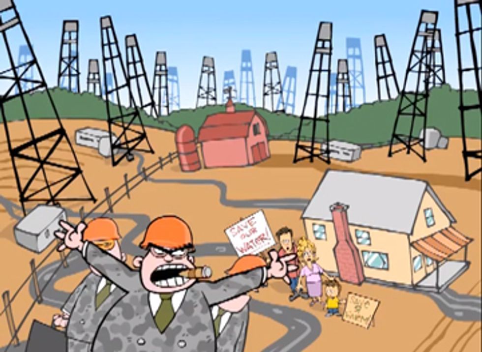 Frackalypse Now: Fossil Fuel Industry's Psychological Warfare Scandal