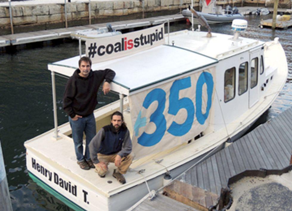 Lobster Boat vs. Coal Ship
