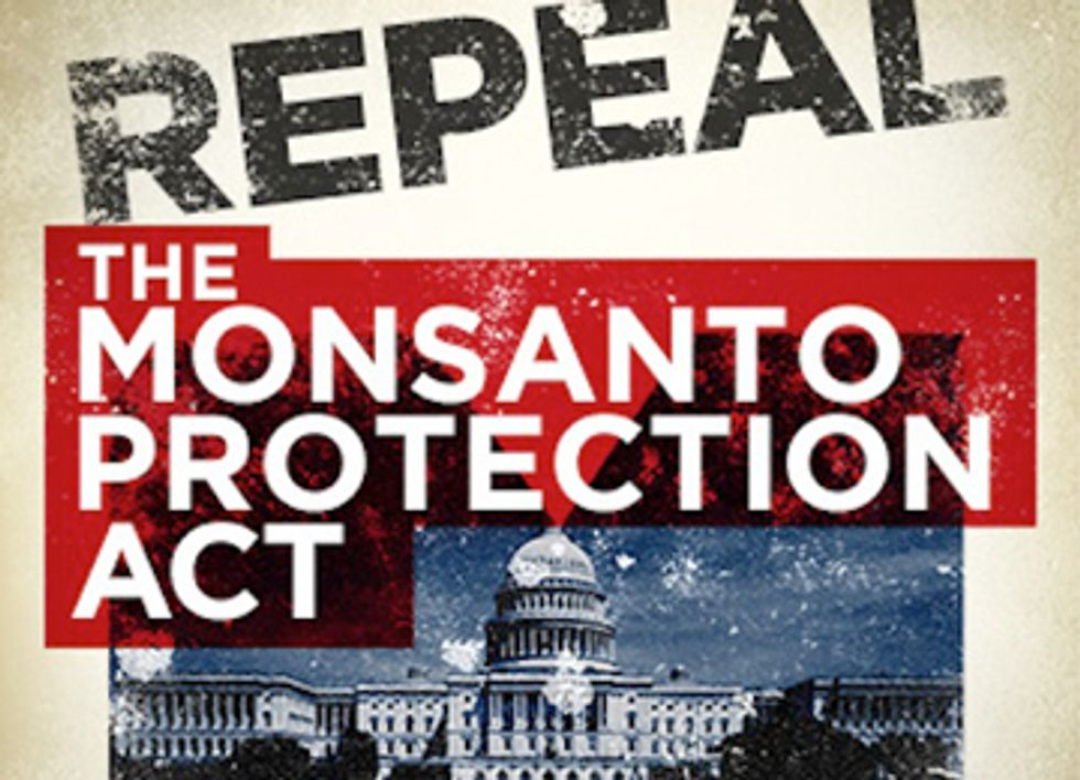 Is Outrage Over Monsanto Protection Act a Turning Point for the Food Movement?