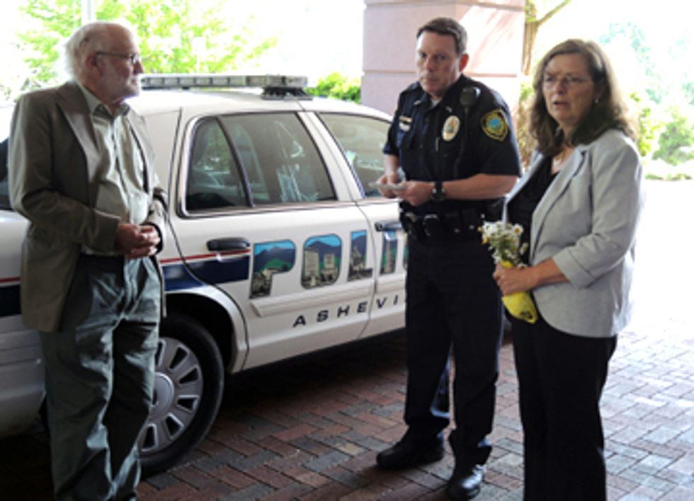 Two Arrested at Genetically Engineered Tree Conference