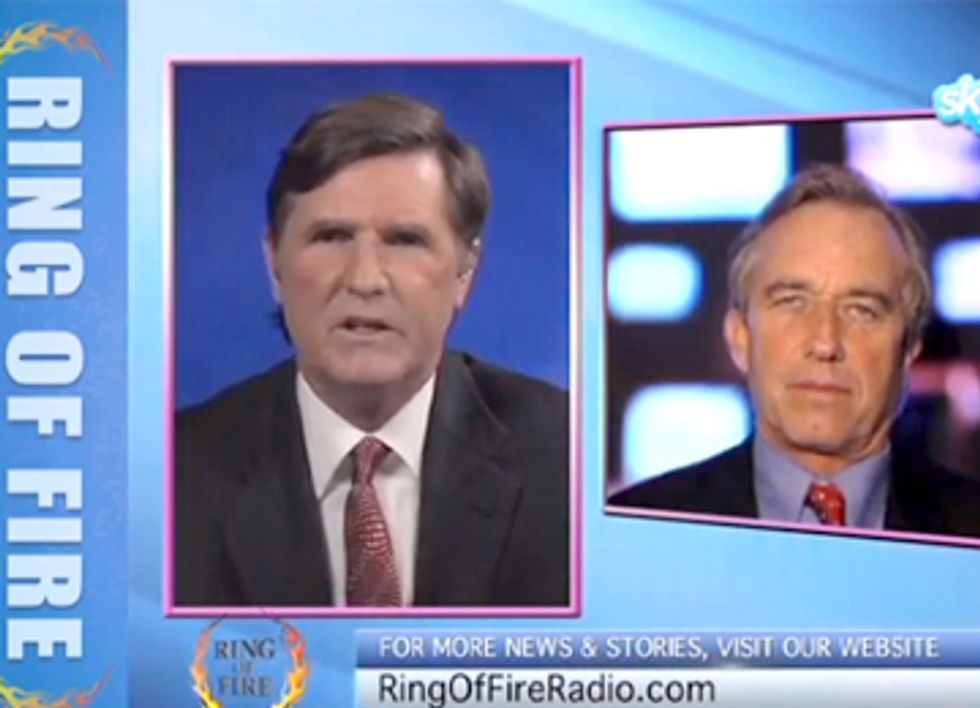 RFK, Jr. Exposes Climate Criminals on Ring of Fire Radio