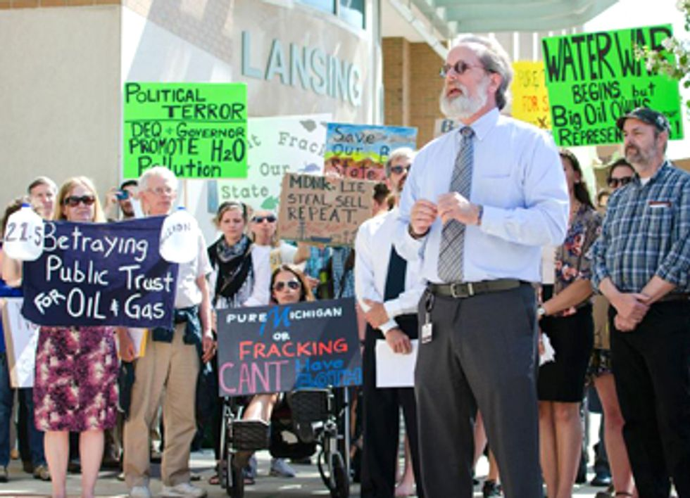 Michigan's Common Ground Against Fracking