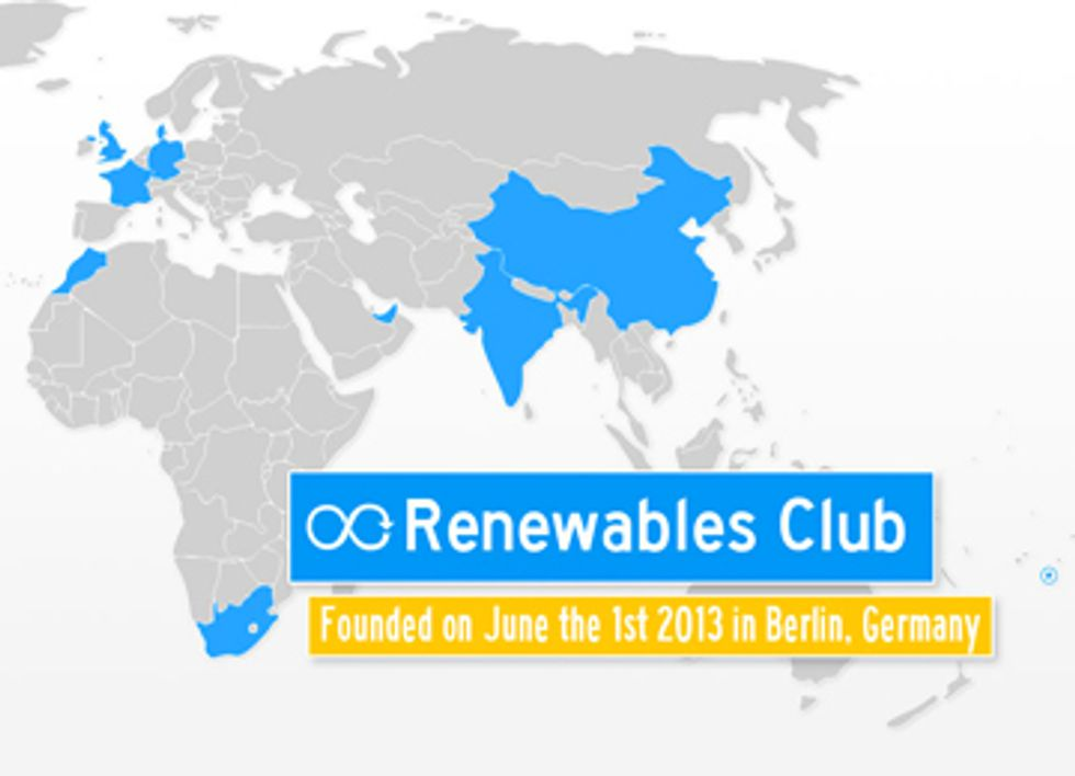 Ten Countries Launch Renewables Club to Lead World Energy Transformation