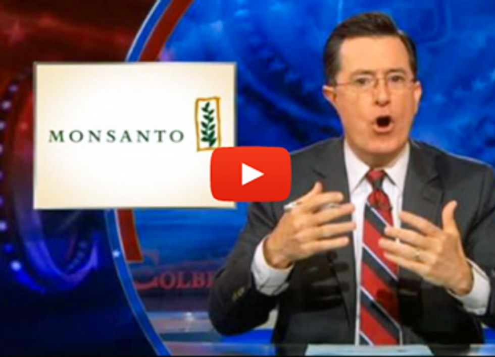 Colbert Weighs in on Genetically Engineered Wheat Controversy