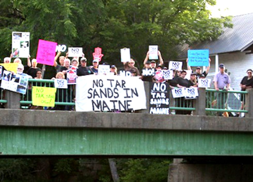 Sixth Maine Town Passes Resolution Opposing Transport of Tar Sands Through Existing Pipeline
