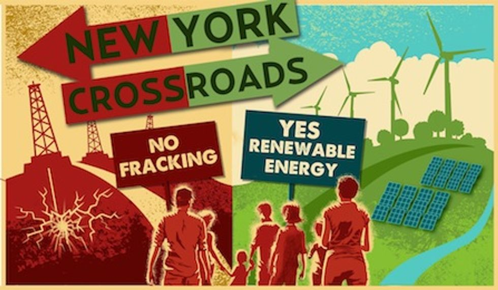 New Yorkers to Rally Against Fracking and In Support of Renewable Energy June 17