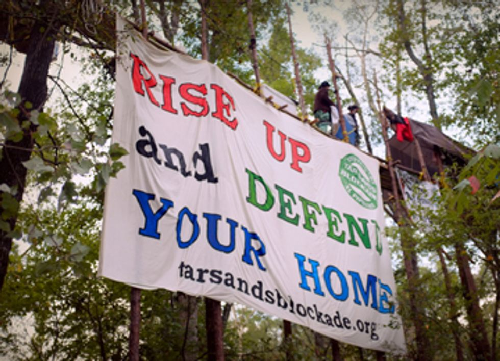 TransCanada Caught Training Police to Treat Nonviolent Keystone XL Protesters as Terrorists