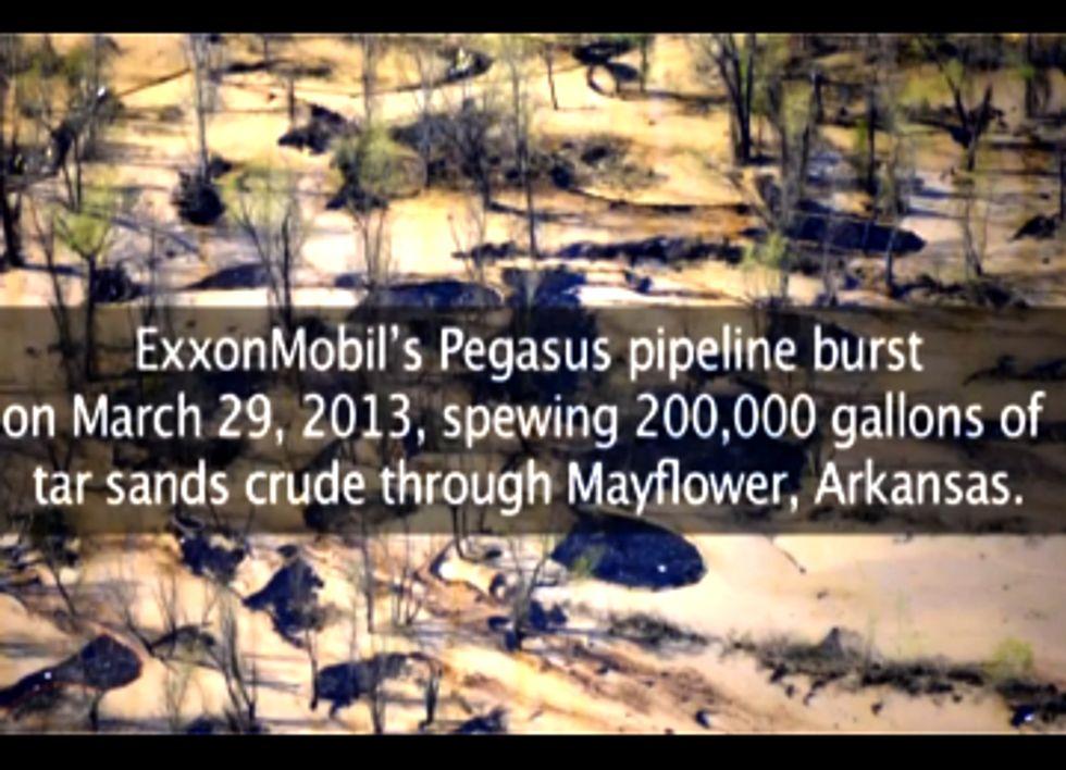Feds, State File Lawsuit Against ExxonMobil over Tar Sands Oil Spill in Mayflower, AR