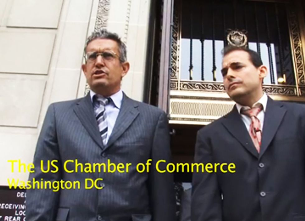 The Yes Men Want to be Sued by the U.S. Chamber of Commerce