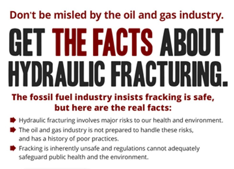 New Website Challenges Industry Spin on Fracking