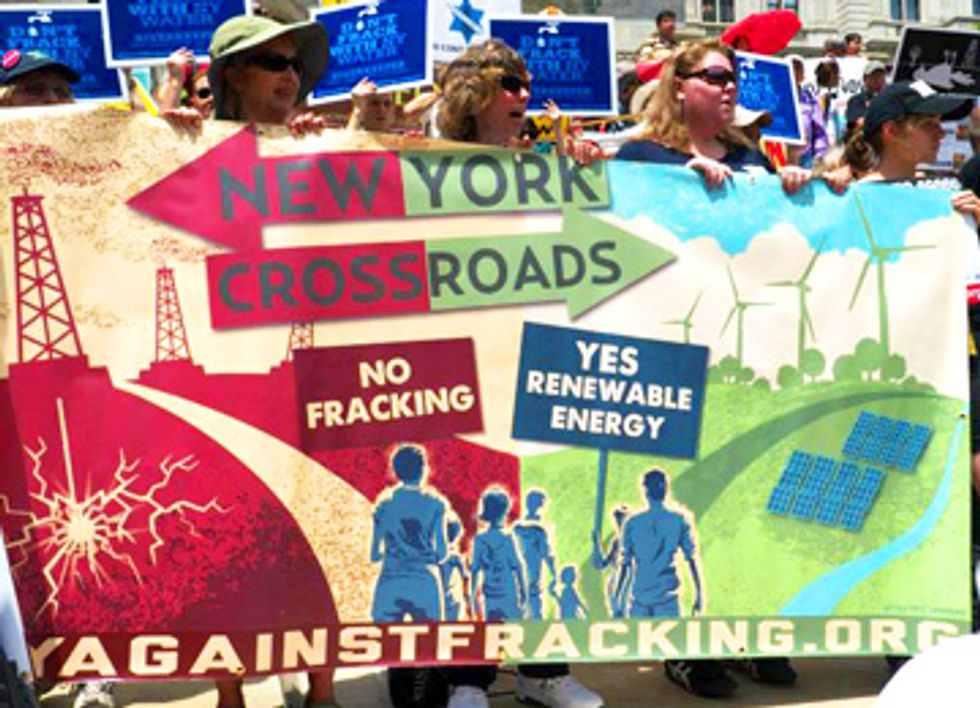 3,000+ New Yorkers Converge on Albany for Anti-Fracking, Pro-Renewables Rally