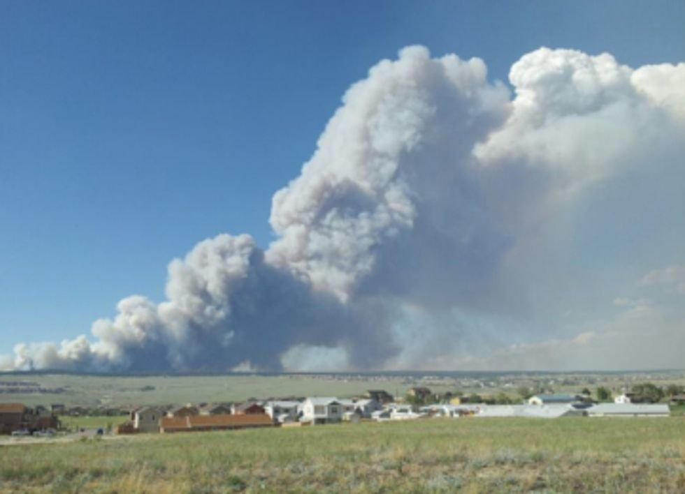 Historic Wildfires Scorch Colorado While Fracking Industry Continues to Drain Water Supply