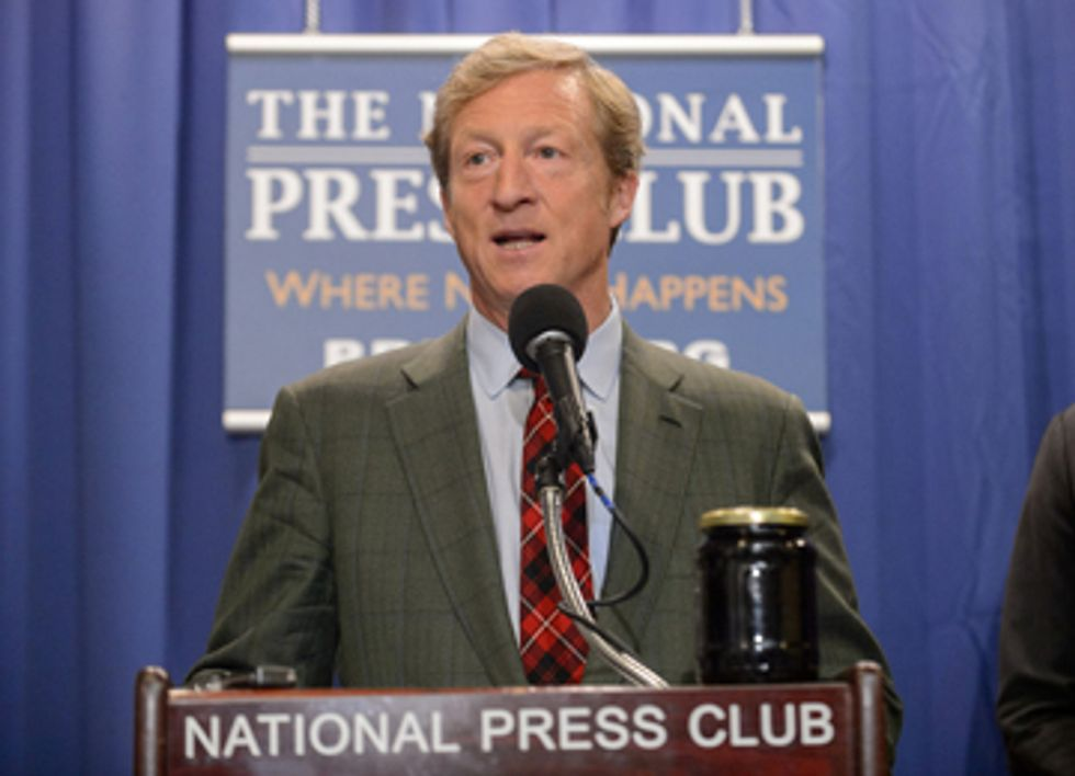 Billionaire Tom Steyer Launches Campaign to Rally Obama Supporters Against Keystone XL Pipeline