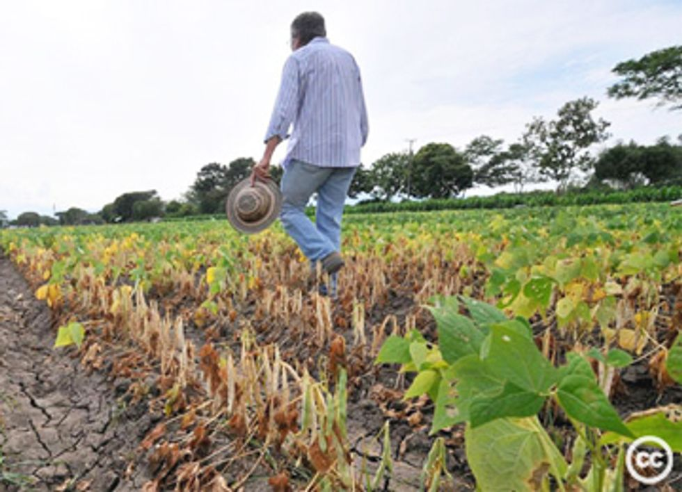 During Record Drought, Frackers Outcompete Farmers for Water Supplies