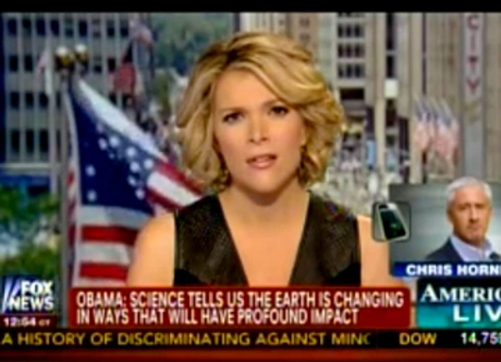 Fox News Cuts Away From Obama Climate Speech to Feature Climate Change Denier