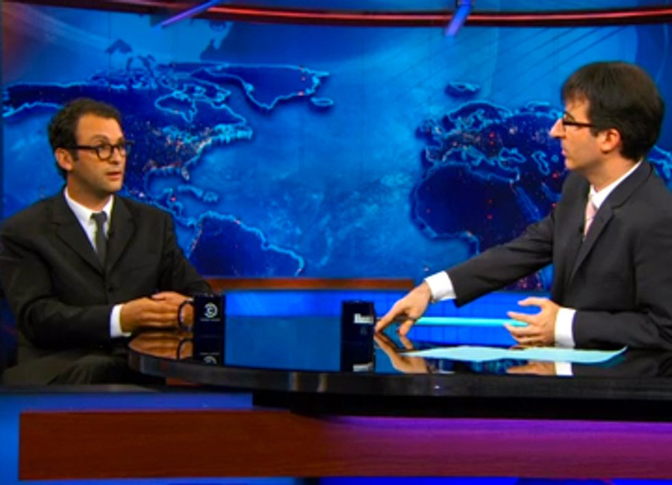 Josh Fox Talks Fracking and Gasland Part II on The Daily Show