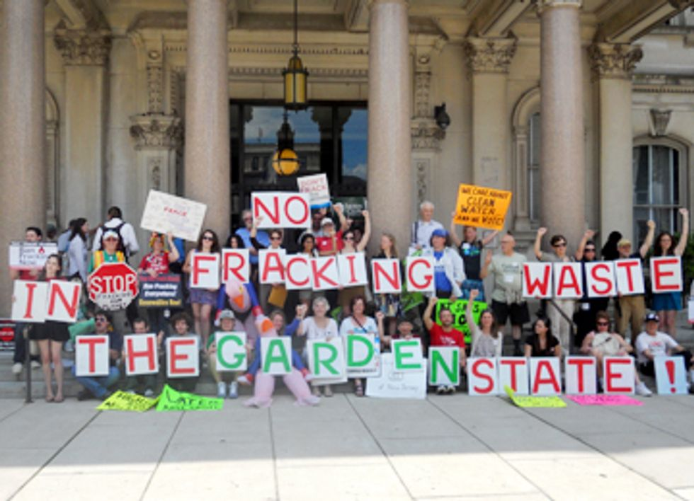 Northeastern States Protest Toxic Fracking Waste