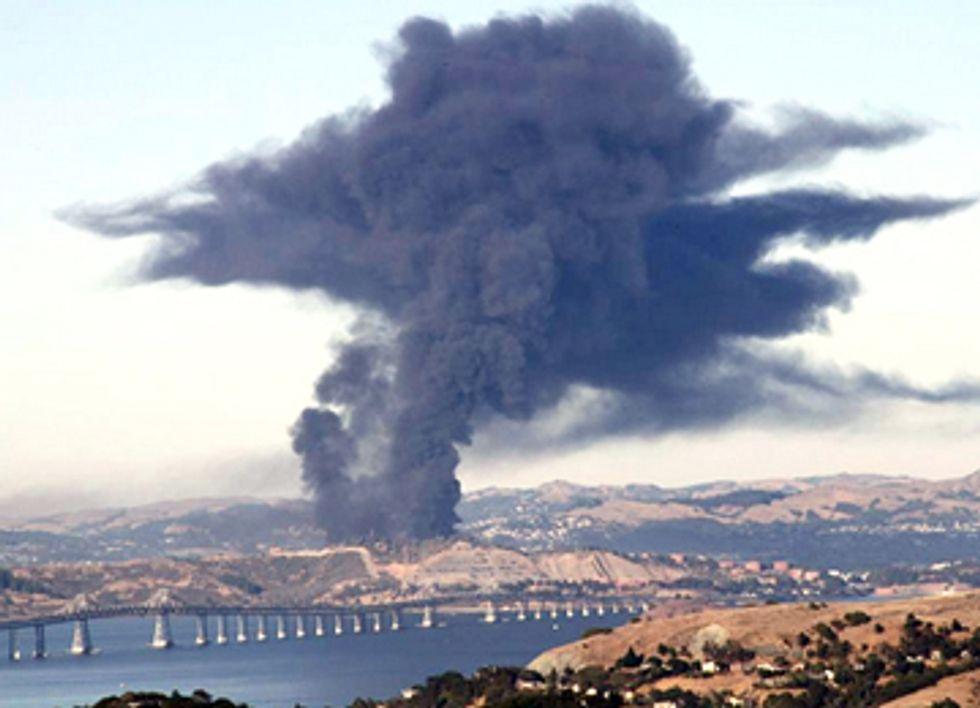Bay Area Battles Chevron's Dangerous Tar Sands Refinery
