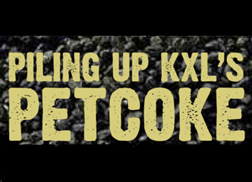 Infographic: Piling up Keystone XL's Petcoke