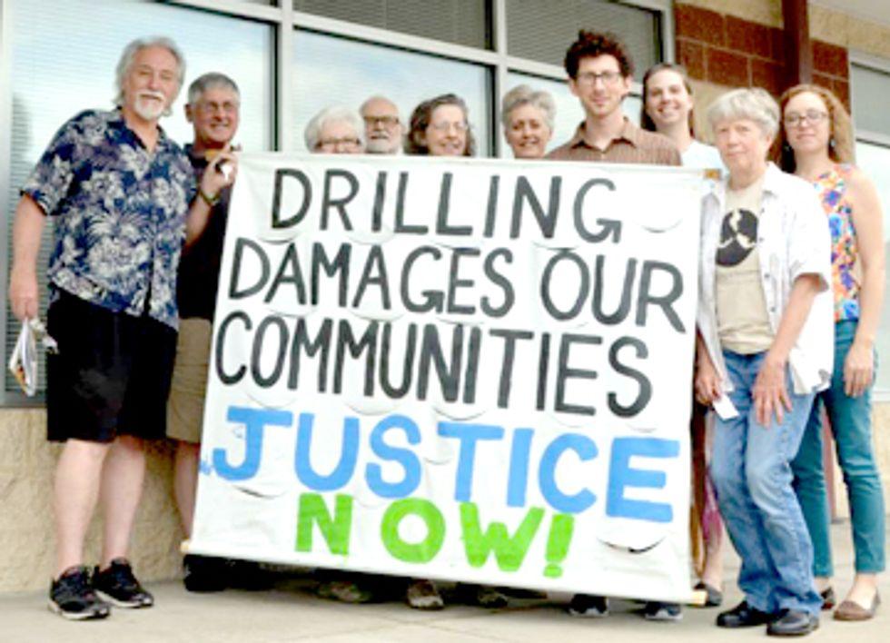 Pennsylvanians Demand Senators Declare Independence from Fracking