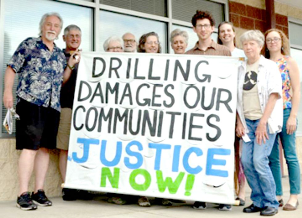 Pennsylvanians Demand Senators Declare Independence from Fracking