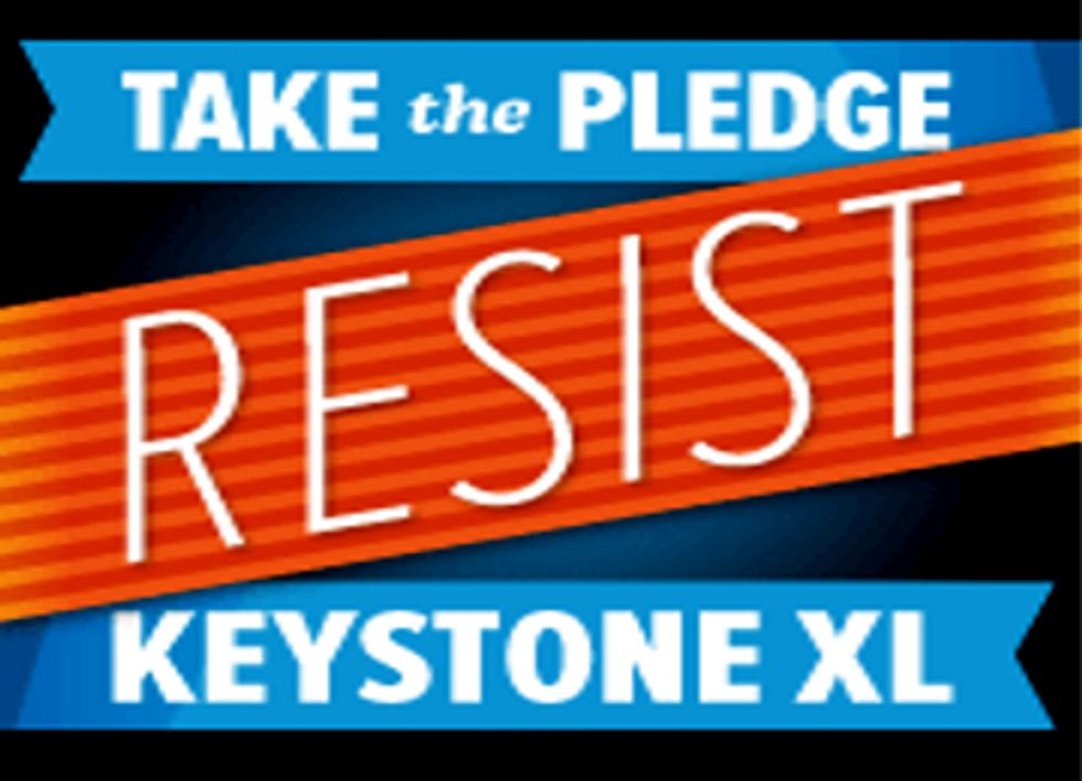 69,000 Americans Pledge to Risk Arrest if Keystone XL Pipeline Is Approved