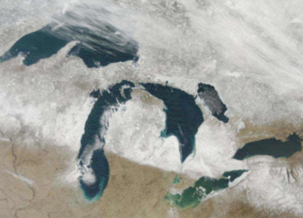 Proposed Budget Cuts Target the Great Lakes