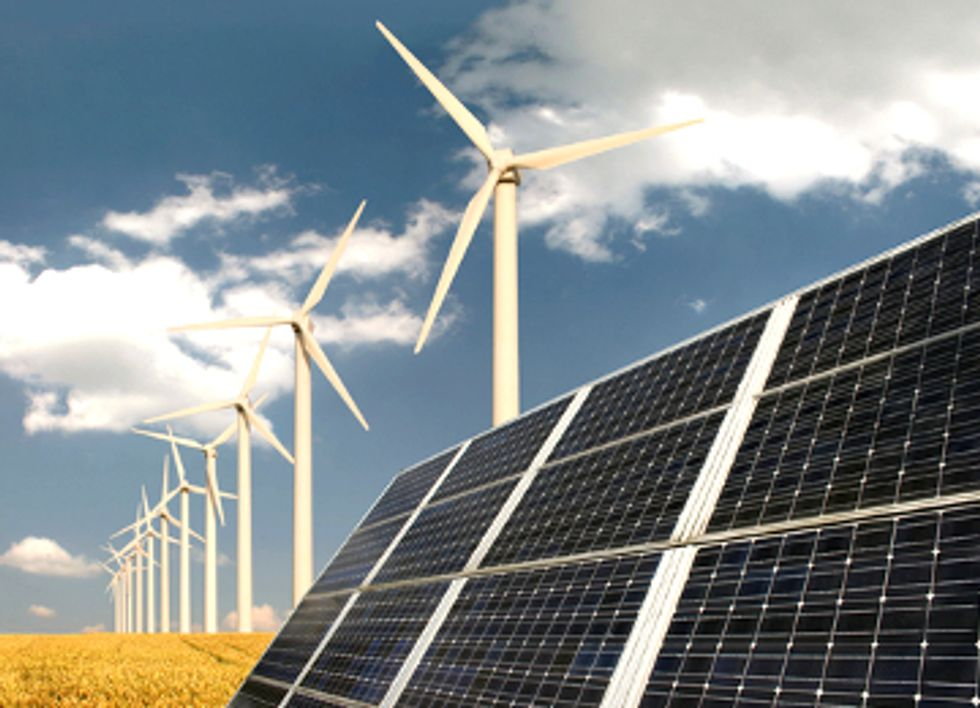 Growth of Global Solar and Wind Energy Continues to Outpace Other Technologies