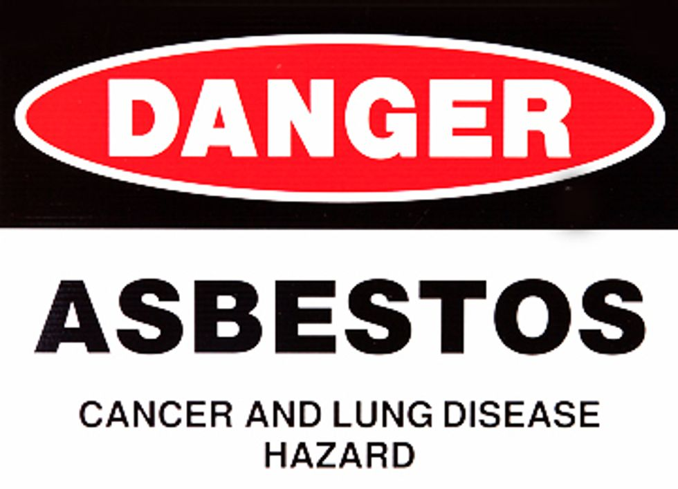 Real Chemical Reform Must Ban Asbestos Completely